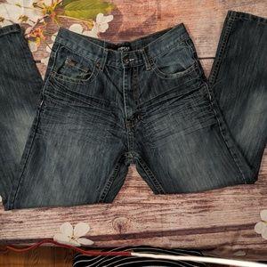 Southpole dark blue jeans men's size 32